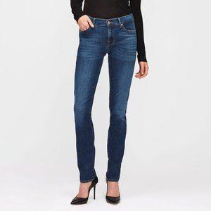 7 for all mankind Roxanne straight leg jeans medium wash size 24